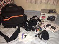 Canon EOS 1200D & accessories