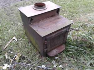 Workshop/garage woodstove/wood stove