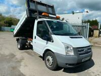 63 REG FORD TRANSIT SINGLE CAB 125PS ONE STOP DROPSIDE TIPPER, SUPERB TRUCK!