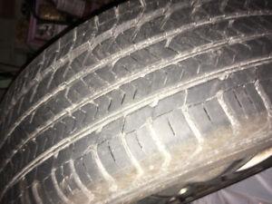 205/55/R16 All Season Good Year Tires on Rims