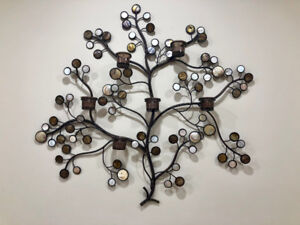 Metal wall ornament