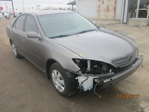 JUST ARRIVED FOR PARTS 2002 TOYOTA CAMRY @ PICNSAVE WOODSTOCK!