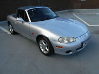(02) 2002 Mazda MX-5 1.6i NEW SOFT TOP Only 86,000 miles