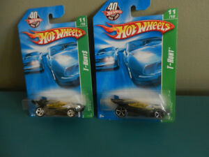 Hot Wheels Super Treasure Hunt Drift King and Regular Lot of 2