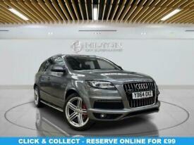 image for 2014 Audi Q7 3.0 TDI QUATTRO S LINE PLUS 5d 245 BHP Estate Diesel Automatic
