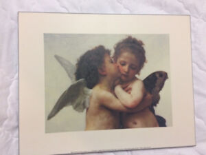 Angel Artwork - Professionally Mounted