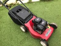 Mountfield petrol lawnmower with Briggs and Stratton engine runs mint.