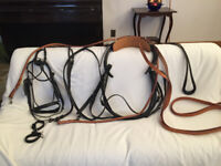 All LEATHER Horse Harness - Excellent NEW Condition