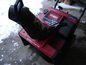 2-Snowblower to Choose From, 100% Serviced, 100% Tested  2-Toro