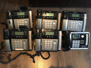 RCA  4-Line Expandable Phone System (6 Phones)