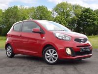 Kia Picanto 1.0 1 3dr (red) 2014