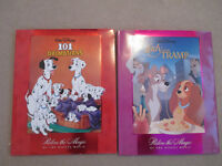 Disneys *X-Lg* Hardcovers-101 Dalamtions & Lady and the tramp