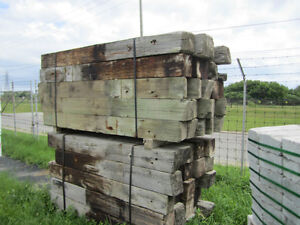 USED TREATED LANDSCAPING  POSTS $10.99 each