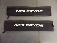 Neilpryde flat roof rack pads