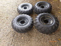 New Quad Side-By-Side Carlisle ATV UTV Tires with rims