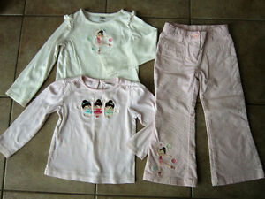 Gymboree Size 4/5 'Winter Ballerina' Line Matching Outfits