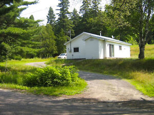 2 bedroom bungalow on acreage for rent