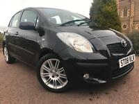 *12 MTHS WARRANTY*2008(08)TOYOTA YARIS 1.4 D4-D DIESEL 5DR SR WITH SAT NAV*