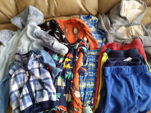 Assorted lot of Boys Fall/Winter clothes