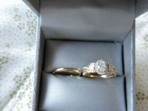 $4,000.00 Engagement & Wedding Ring, Never Used