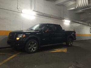 2012 Ford F-150 FX4 cuir toit noir crewcab ecoboost