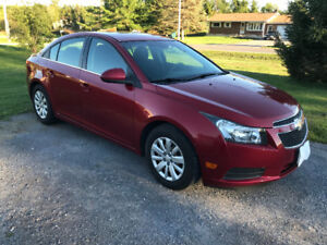 2011 Chevrolet Cruze LT well maintained (Priced to sell)