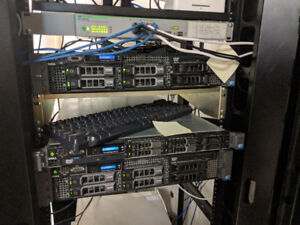 Two x Dell PowerEdge R710 Servers