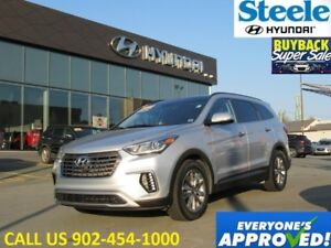 2018 HYUNDAI SANTA FE Luxury AWD Leather Sunroof Navi Camera Htd