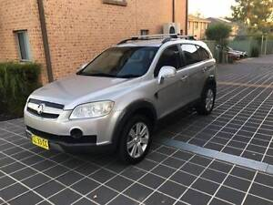 2007 Holden Captiva Luxury 7 Seater Leather A1 Condition Mount Druitt Blacktown Area Preview