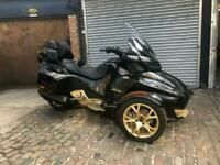 Can-Am Spyder RT 1330 ACE SE6 10th Anniversary Limited Edition