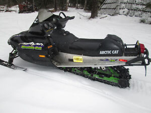 ARCTIC CAT MOUNTAIN CAT 600 EFI 2001 RUNS GREAT WITH REVERSE Prince George British Columbia image 5