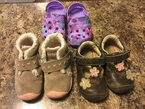 Toddler girls size 6-6.5 shoes