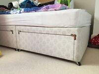 Double divan bed with mattress- FREE!!!