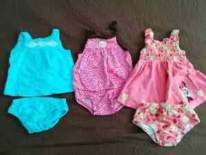 Girls 3 -6m Summer lot EUC