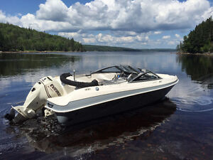 2013 Larson LX 180 S O/B - Excellent Condition