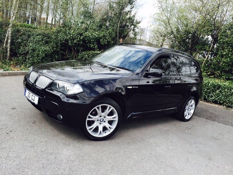 2007 bmw x3 auto m sport diesel full service history immaculate in swansea. Black Bedroom Furniture Sets. Home Design Ideas