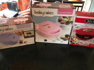 Cake pop, cupcake and mini donut maker