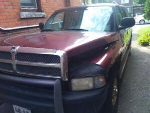 2001 Dodge Ram 2500, 2 wheel drive, 5.7L