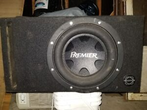 Pioneer Premiere Sub and Amp