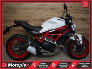 2017 Ducati MONSTER 797 ABS  * Seulement 167 km ! * 43$/SEMAINE