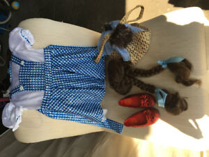 Perfect condition girls Dorothy costume - wizard of oz