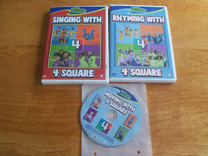 "4 Square DVDs ""REDUCED!! $10"""