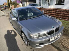BMW 320 2.2 Ci M Sport 06/55