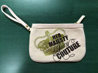 Juicy Couture Pink Canvas Bag