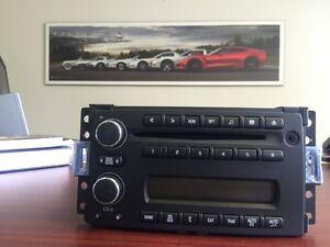 Corvette Multi disc radio C6 with Aux Port