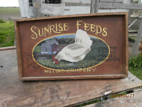 Old sign