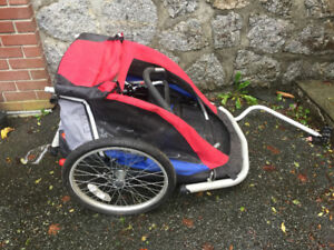 Kids bike trailer $60