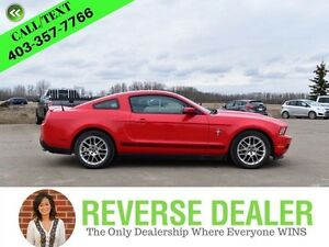 2012 Ford Mustang V6 - LEATHER, MANUAL, SHAKER SOUND!