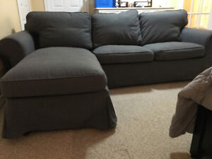 Ikea chaise sofa very good condition $400