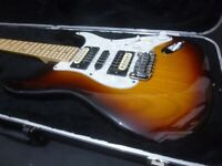 G&L Legacy USA sunburst Strat - HSH - early 2000's (with g&l hardshell case)